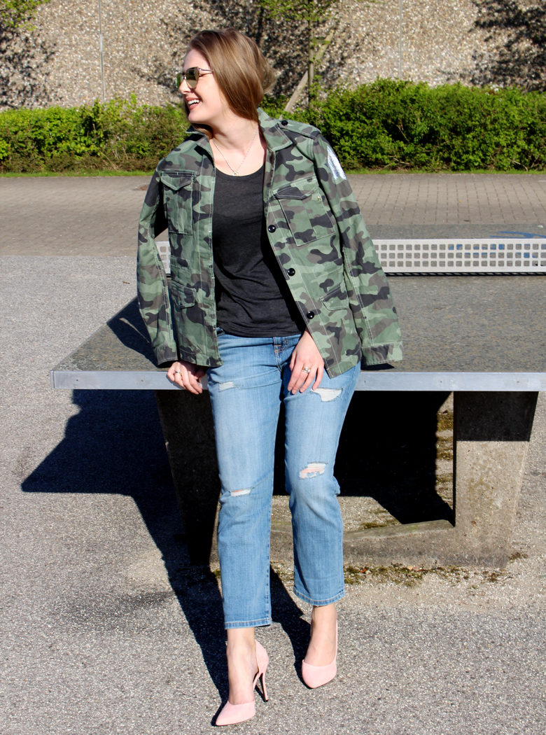 blogger camouflage trend