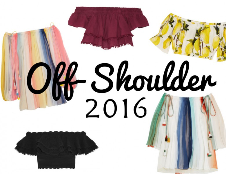 off-shoulder trend 2016