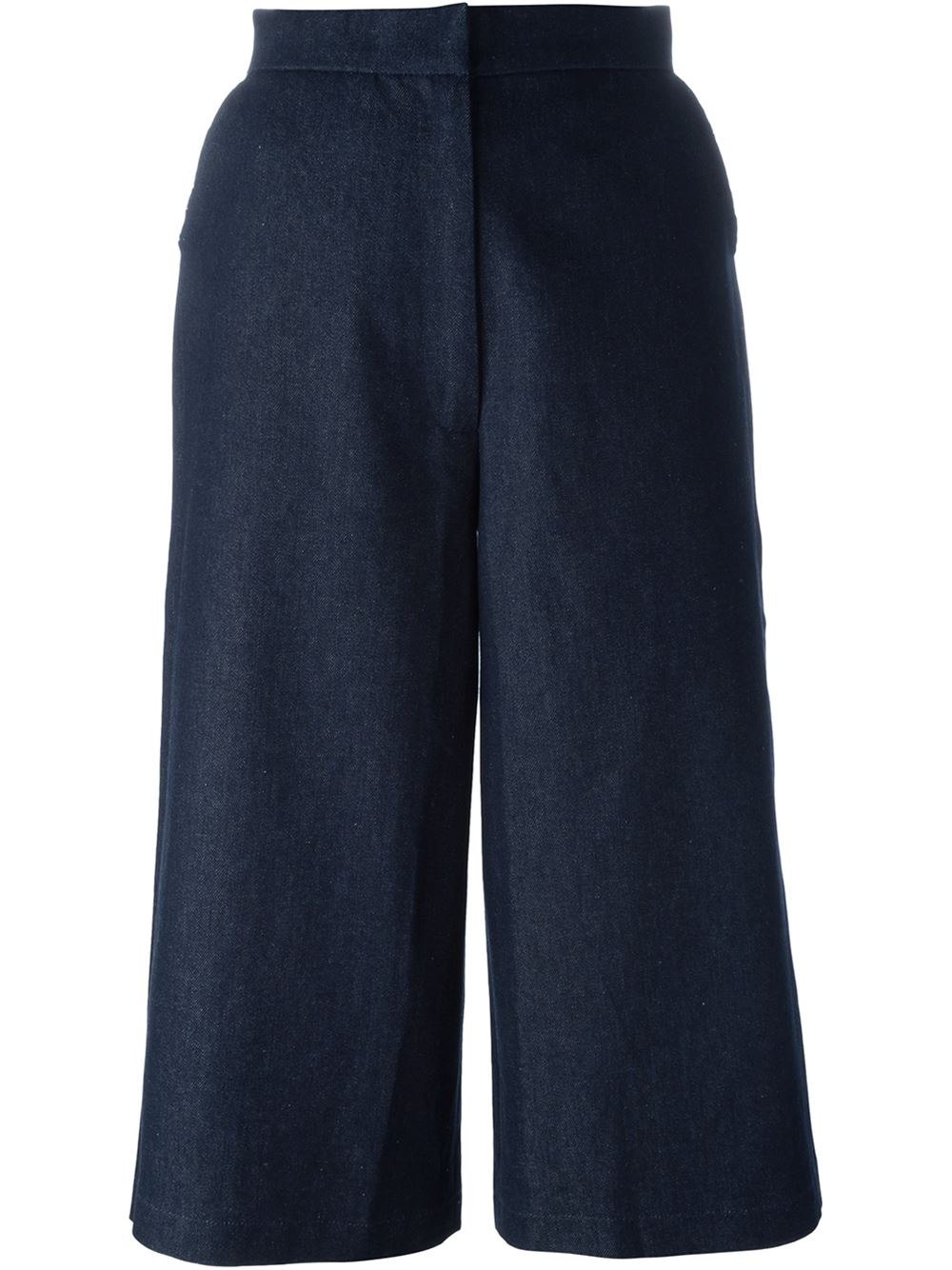 dunkle culottes