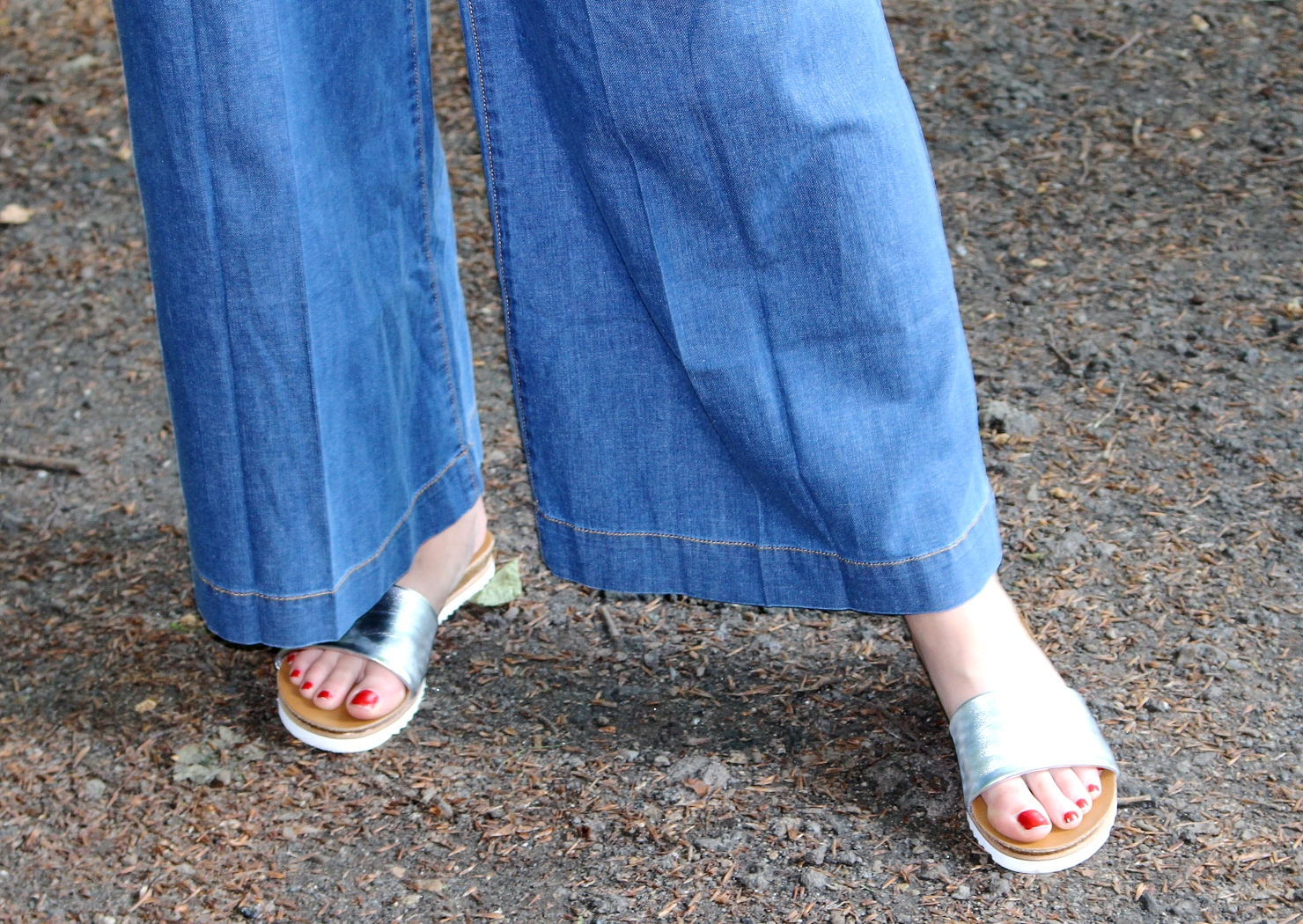 jeans culottes
