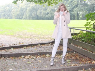 wollmantel outfit